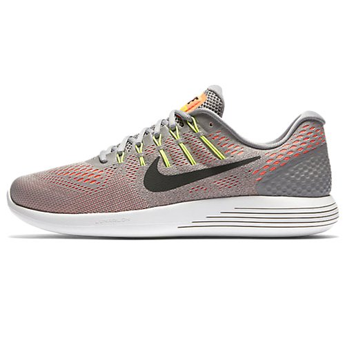 Nike Lunarglide 8, Chaussures de Course Homme Multicolore (Dust/hyper Orange/electrolime/black)