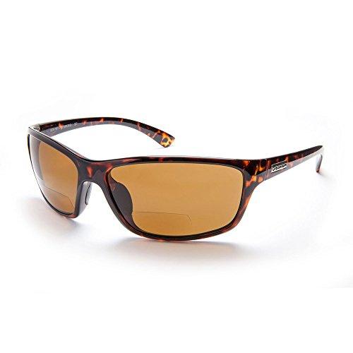 Urbanium Eyewear Sonnenbrille mit Sehstärke Modell London im klassischen Look mit polarisierten Gläsern in havanna-braun mit Addition +2.00