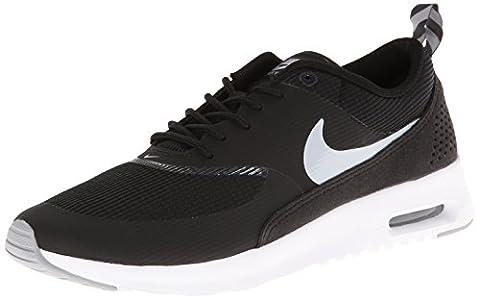 Nike Air Max Thea, basket femme, Noir - Schwarz (Black/Wolf Grey-Antharcite-White), 36.5