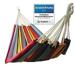 Kronenburg Hängematte Mehrpersonen 210 x 150 cm, Belastbarkeit bis 300 kg