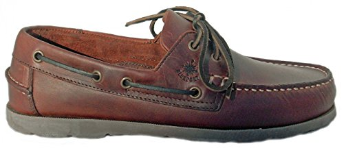 BluePort Vermont Chaussures bateau Homme - Semelle foncée braun