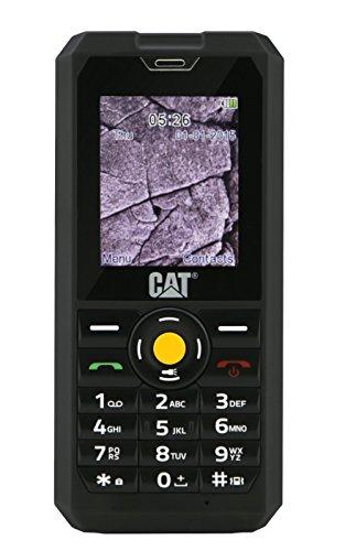 Cat B30 2  101g Negro Tel  fono para Personas Mayores - Tel  fono M  vil  Barra  SIM Doble  5 08 cm  2    2 MP  1000 mAh  Negro