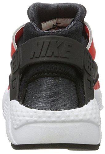 Nike Kinder und Jugendliche Huarache Run Gs Sneakers Mehrfarbig (Max Orange/black-black-anthracite)