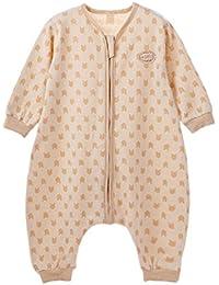 sfghouse bebé niños Natural Colores algodón Primavera Verano Saco de dormir Saco de dormir con mangas y pies para 12 – 36 meses, b, XL(24-36…