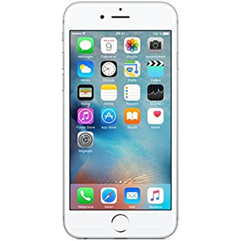 Apple iPhone 6s 128GB 4G Plata - Smartphone (SIM única, iOS, NanoSIM, EDGE, GSM, DC-HSDPA, HSPA+, TD-SCDMA, UMTS, LTE)