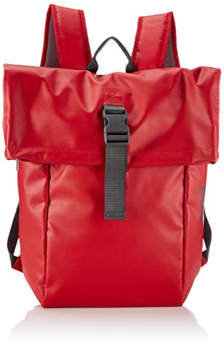 BREE Punch 93, Red, Backpack, Sacs portés épaule Mixte adulte - Rouge (red 152), 41x46x12 cm (B x H x T)