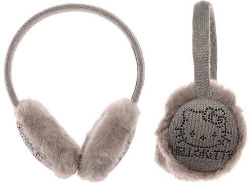 Hello Kitty–Cache Ohren Strass Wolle und Strass Kinder/Jugendliche/Erwachsene ()
