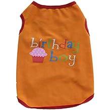 babysbreath17 Trajes de Ropa de la Camisa del Verano del Perrito del Perro del Animal doméstico