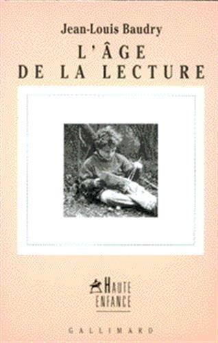 L'Age de la lecture