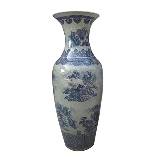 chest-drum-type-crackle-floor-vase-of-underglaze-blue-and-white-glazed-porcelain-country-as-a-fine-t