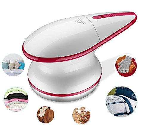 Fusselrasierer Elektrisch Flusenentferner, USB Kabel Aufladbare Akku Pilling Rasierer zum Wolle Sofa Couch Cashmere Messer Kleidung Textil Pullover Fusselfräse
