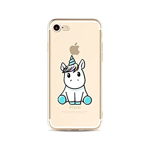 MUTOUREN iPhone SE 5 5S Hülle Schutzhülle Handy TPU Silikon