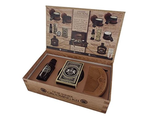 Preisvergleich Produktbild Dear Barber Beard Grooming Mens Gift Set Collection