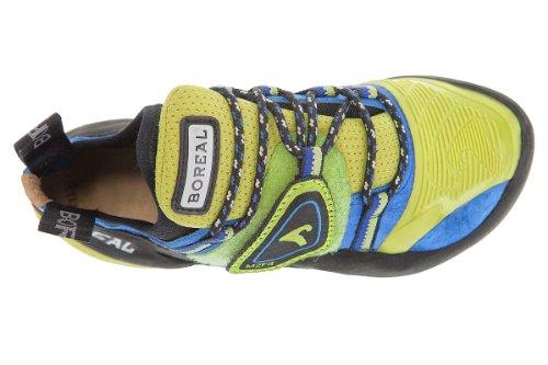 Boreale Satori–Scarpe sportive unisex negro/amarillo/azul/verde