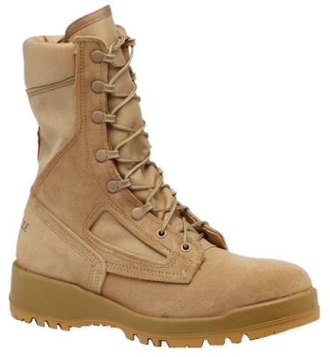 Belleville Men's Hot Weather Combat Boots - Desert Tan - 390 des Hot Combat Boot