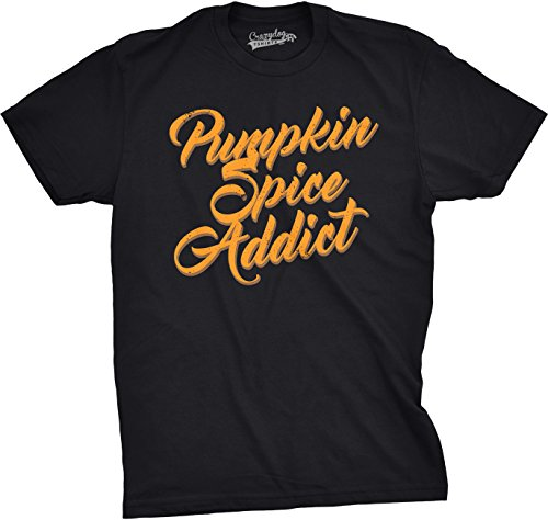 crazy-dog-tshirts-mens-pumpkin-spice-addict-funny-fall-halloween-coffee-october-latte-t-shirt-black-
