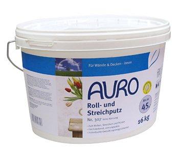 AURO Roll- und Streichputz feine Körnung 307 - 16 kg