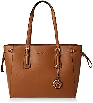 Michael Kors - Voyager Medium Leather Tote, Bolsos totes Mujer, , 15.9x26.7x41.9 cm (B x H T)