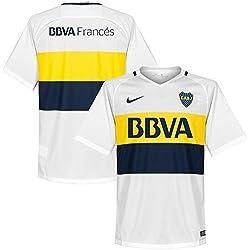 Nike Boca M SS AW Stadium JSY - Camiseta de manga corta para hombre, color blanco, talla XL