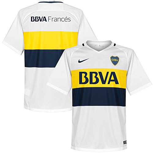 Nike Herren Trikot Away Stadium 2016/2017 Ca Boca Juniors, Weiß, XL-52/54