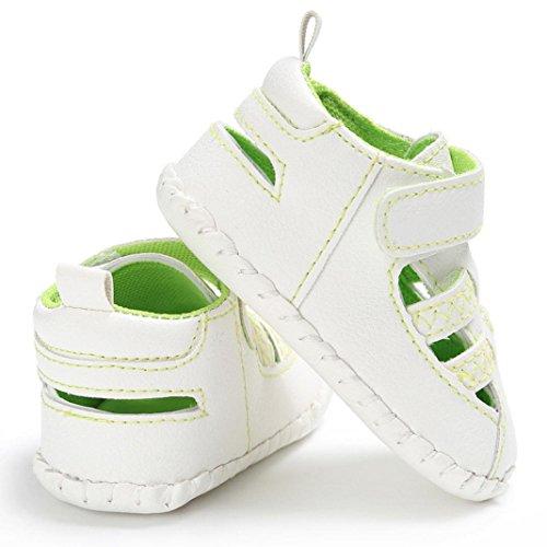 Baby Schuhe, Switchali Baby Kleinkind Niedliche Krippe Schuhe Anti-Rutsch Prewalker Soft Sohle Schuhe Sandalen Grün