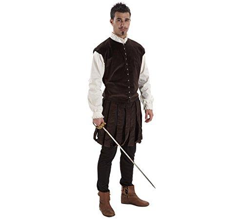 Imagen de disfraz de hidalgo para hombre