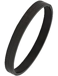 Zivom® Italian Designer 316L Surgical Stainless Steel Openable Bangle Kada Bracelet Men Boys