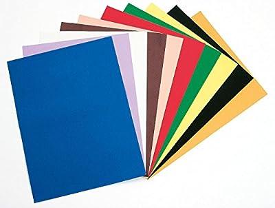 5 EXTRAGROSSE Moosgummi Platten, ca. 60 x 40cm, Stärke 3 mm, diverse Farben von VBS Hobby Service