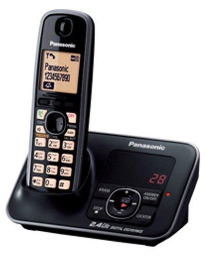 Panasonic Single Line 2.4GHz KX-TG3721SXB Digital Cordless Telephone (Black)  available at amazon for Rs.3689