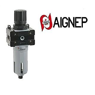 Filter 1/2Pressure Regulator 0–8bar Adjustment AIGNEP t030205231000