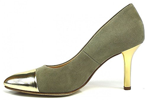 Paul Green Pumps spitz gold Oro Taupe oro/taupe/gold