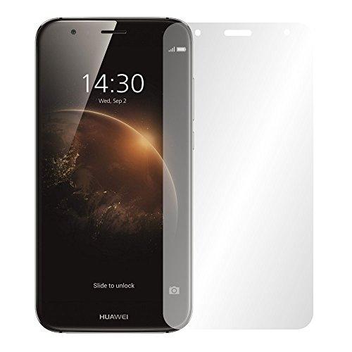 Slabo 4 x Bildschirmschutzfolie für Huawei G8 / GX8 Bildschirmfolie Schutzfolie Folie Zubehör (verkleinerte Folien, aufgr& der Wölbung des Bildschirms) Crystal Clear KLAR - unsichtbar Made IN Germany