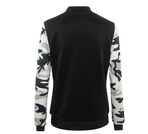 Manteau, Tonsee Femmes manches longues Blazer Costume Blouson Manteau Outwear Noir