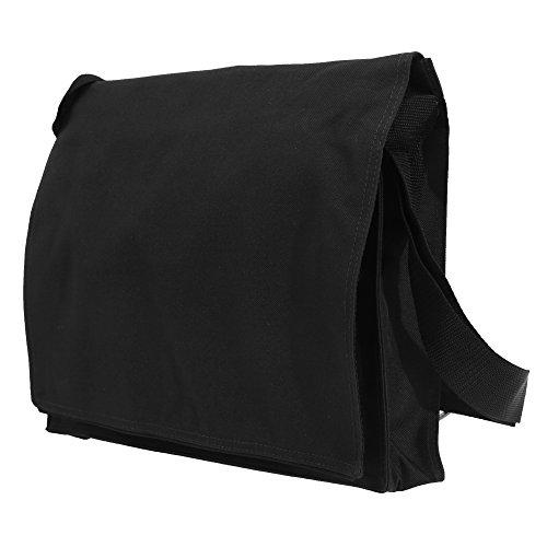 Bagbase Conference Messenger-Tasche / Schultertasche, 7 Liter Schwarz