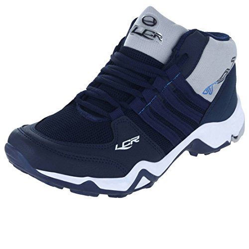 Lancer Men's Sports Running Shoes Blue Grey - 8 UK