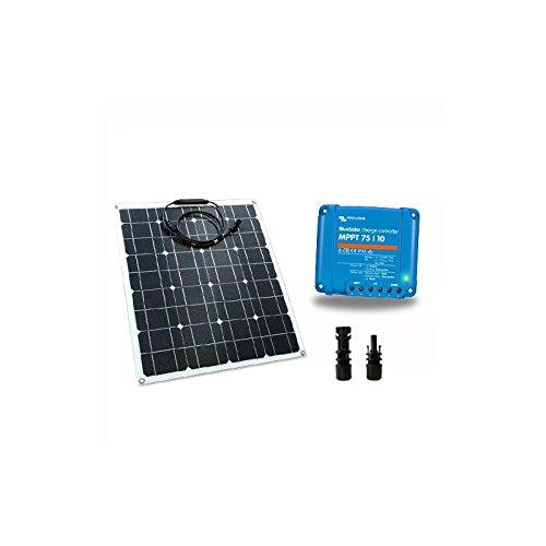 Los?Kit solar barco base? Incluyen panel solar flexible, regulador de carga para la gestión de la batería motor y de la batería servicios y conectores.