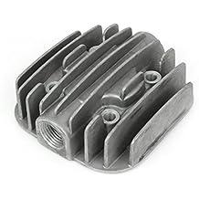 Compresor de aire de repuesto de 19 mm piezas de metal de la culata de rosca