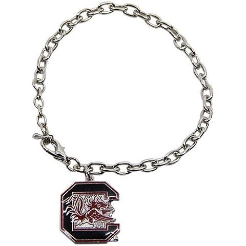 NCAA South Carolina Gamecocks Logo Bracelet