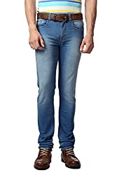 Peter England Slim Fit Jeans _EDN31604456_34_Blue