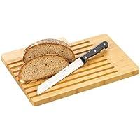 """Esmeyer 291-386 - Tagliere """"Ben"""" in legno, con coltello da cucina"""