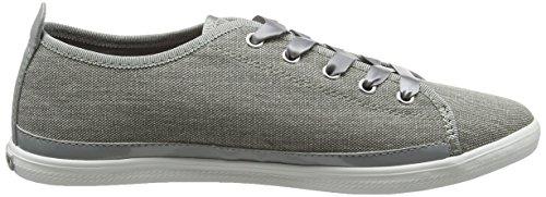Tommy Hilfiger K1285eira Hg 1d1, Sneaker Basses Femme Gris (Light Grey 007)