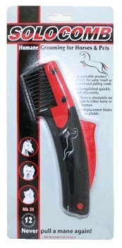 Solocomb - For Horse Mane Pulling or Thinning Solo Comb FAST POSTAGE by Solocomb