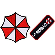 'resident evil Umbrella Corporation Both Logo & Badge Embroidery Iron on aufnaher bugelbild aufbugler aufnaher bugelbild aufbugler parches es Approx: ...