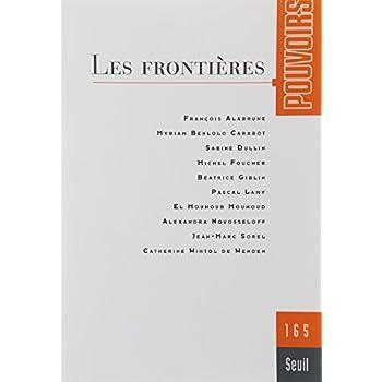 Revue Pouvoirs numéro 165 Les frontières