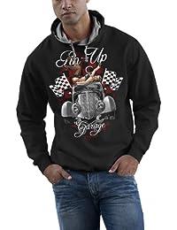 Rock Style Pin Up Garage - American Muscle Car 701477 Hood