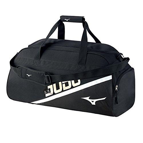 Borsone mizuno judo holdall logo medium (nero)