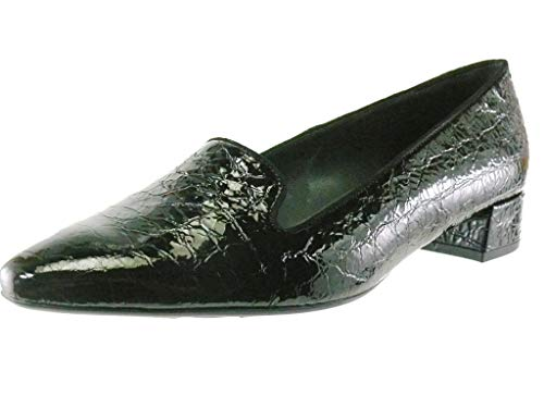 Patent Croc (Peter Kaiser Patti Womens Patent Croc Rauchen Slipper Schuhe 6 UK/ 39.5 EU Black Pearl)