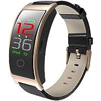 Smart-Armband der Damen-Damen-Herren Schlaf-Monitor-Kalorienz/ähler-Uhr AZZ Fitness-Tracker-wasserdichtes IP68-Smart-Armband Farbe : Blau
