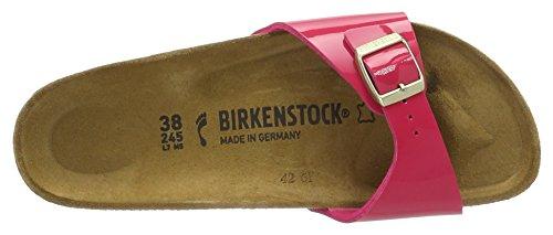 Birkenstock Madrid Birko-Flor, Mules Femme Pink (Pink Lack)