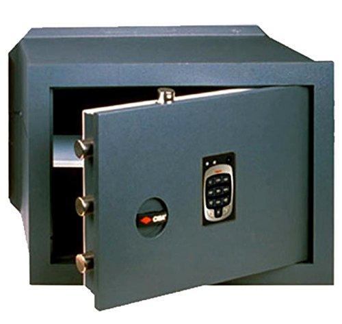 Cassaforte cisa a muro combinazione elettronica in acciaio 24x36x20 82710.31